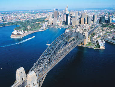 Mb sydney   bridge aerial