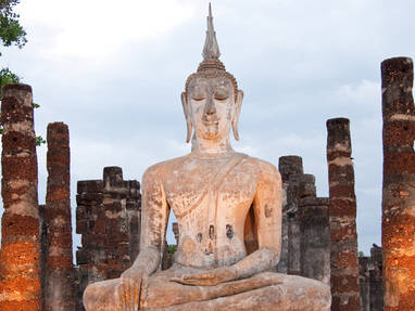 Sukhothai in depth picture