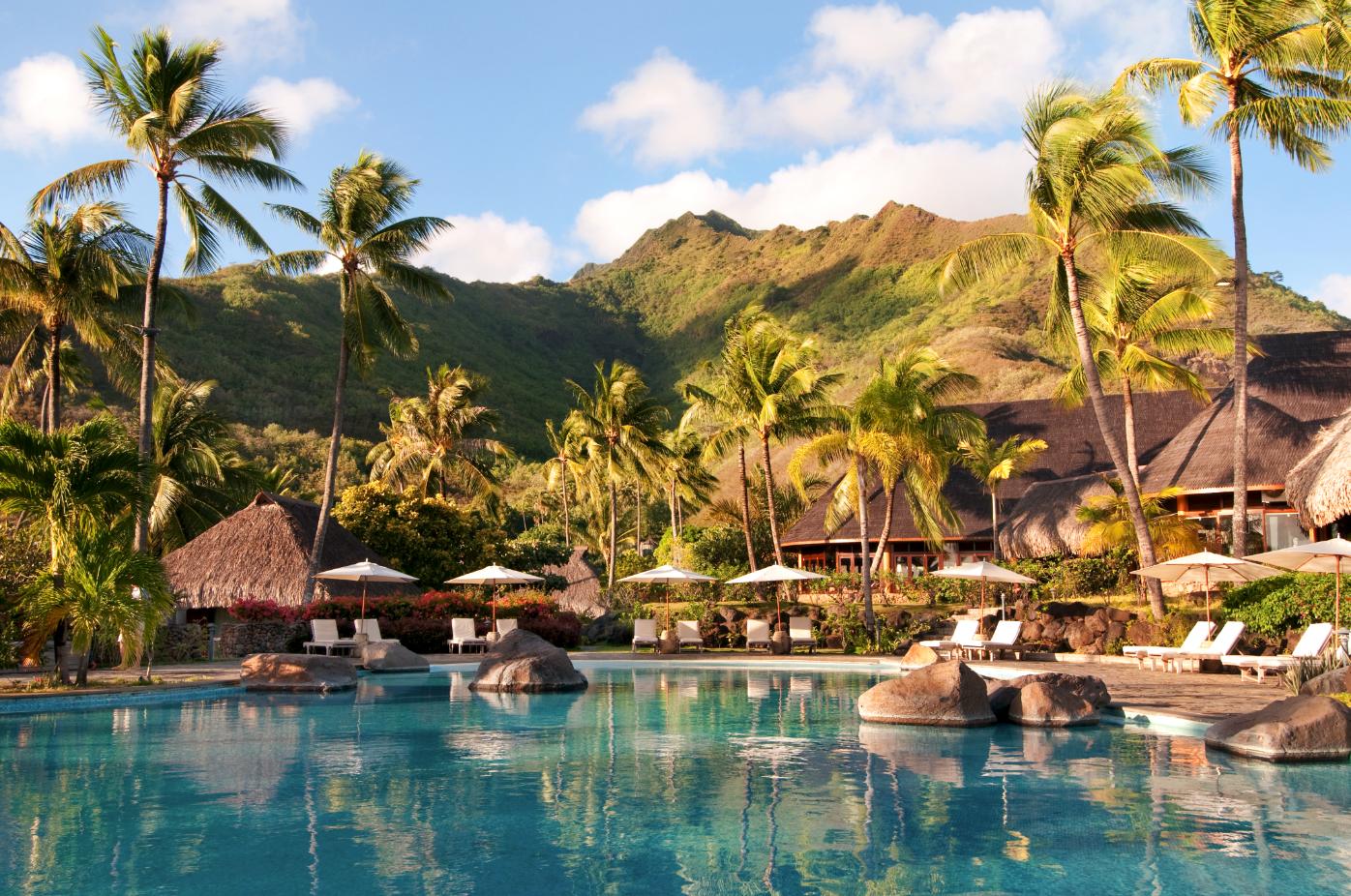 Hilton moorea lagoon resort spa moorea sheraton for Garden pool suite hilton moorea