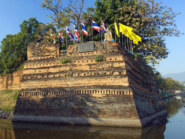 Th chiang mai ancient fortified walls bn