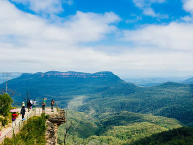Ta nsw lookout   blue mountains np