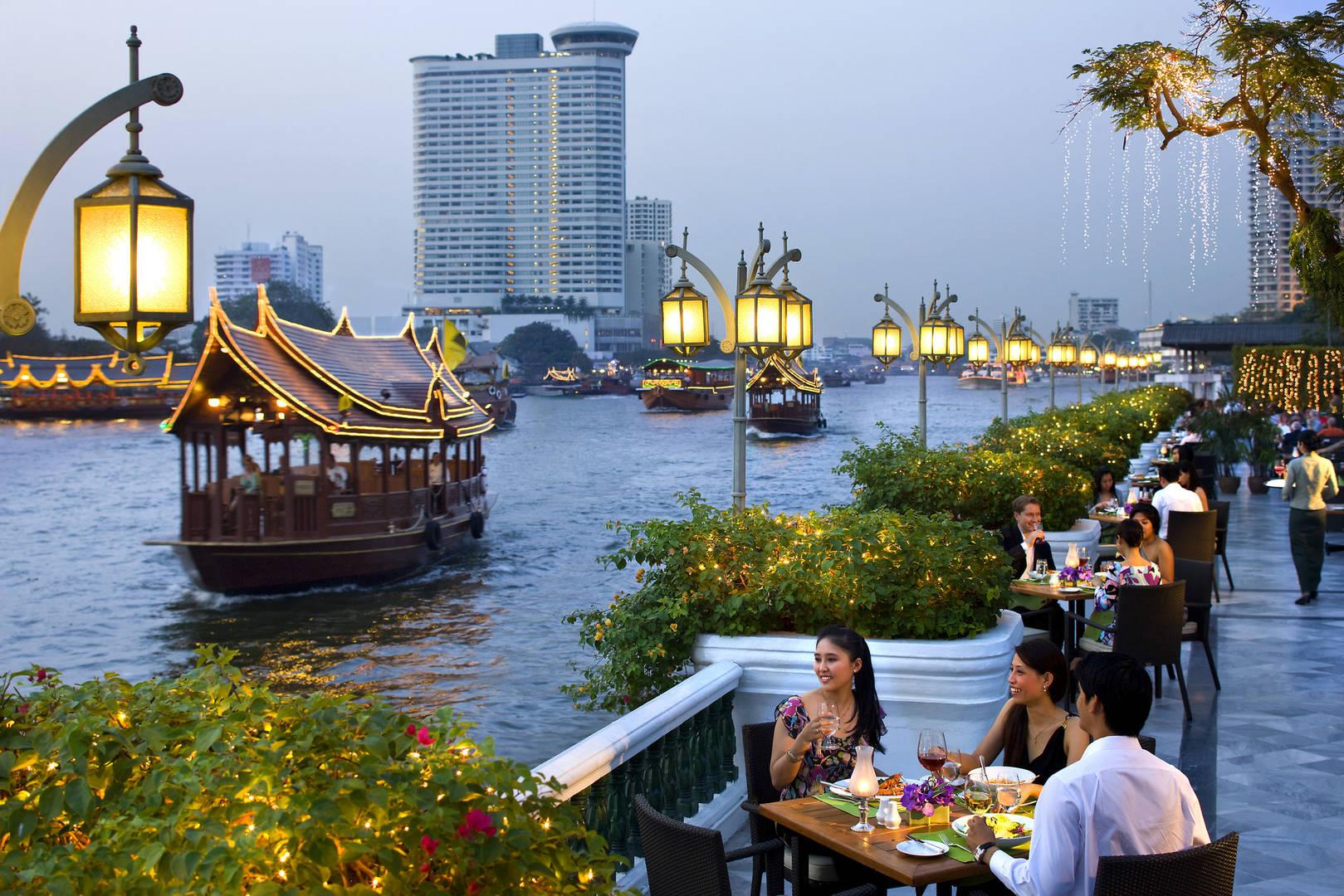 Luxe rondreis thailand en cambodja bangkok chiang mai for Terrace 45 menu