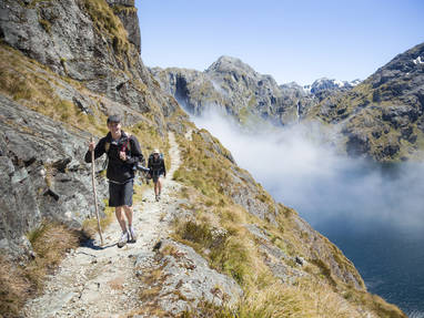 Ne at62 routeburn track fiordland vaughan brookfield