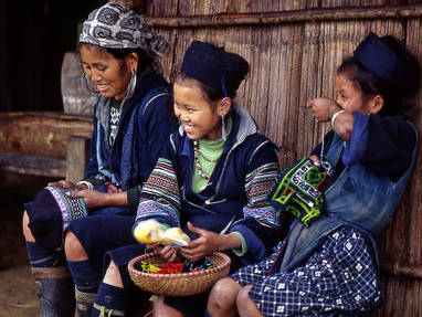 Ethnic hilltribes in sapa
