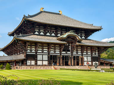 Nara todaiji   side view close up