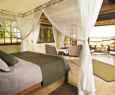 Zambia | South Luangwa National Park | Kafunta River Lodge | Slaapkamer